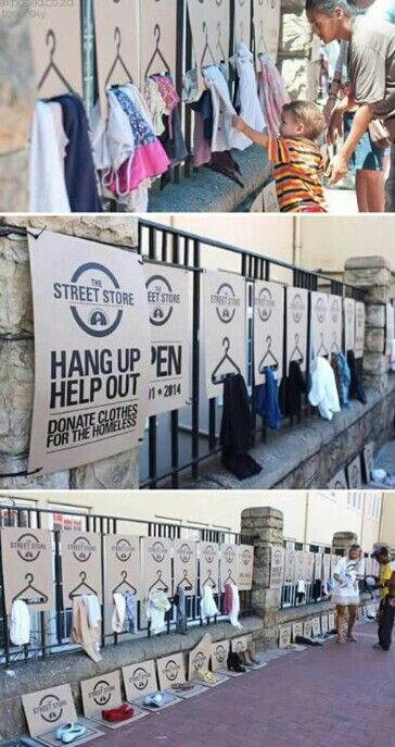 Donation Marketing Poster Donate Clothes Homeless Care
