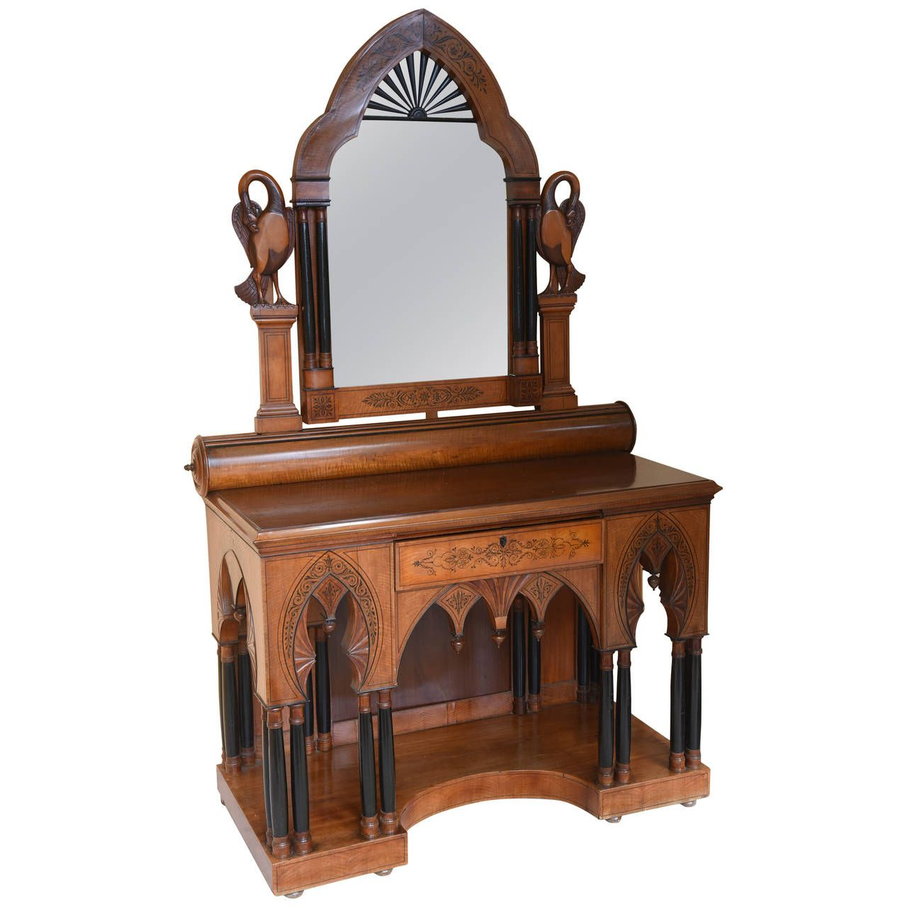 Best 19Th Century Satinwood Vanity From A Unique Collection 400 x 300