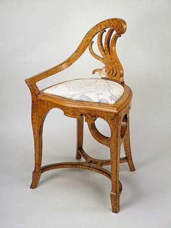 Art Nouveau Meubels Antiek.Jugendstil Voorbeelden Art Nouveau Jugendstil Art Deco