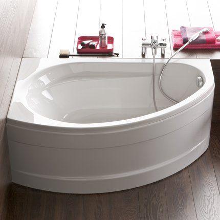 baignoire d'angle prima style allia | salle de bain | pinterest