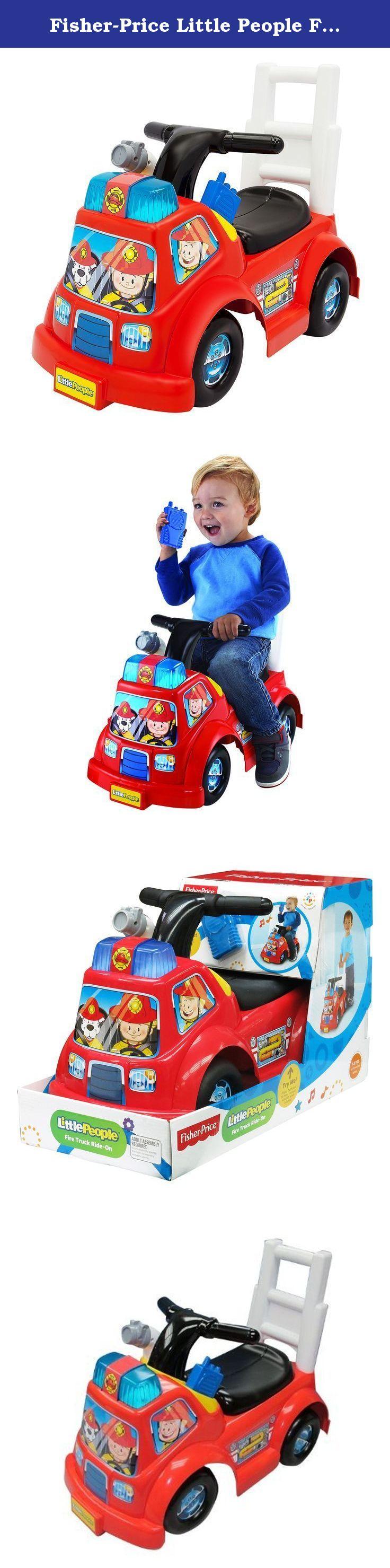 Little people car toys  FisherPrice Little People Fire Truck Ride On The Little People
