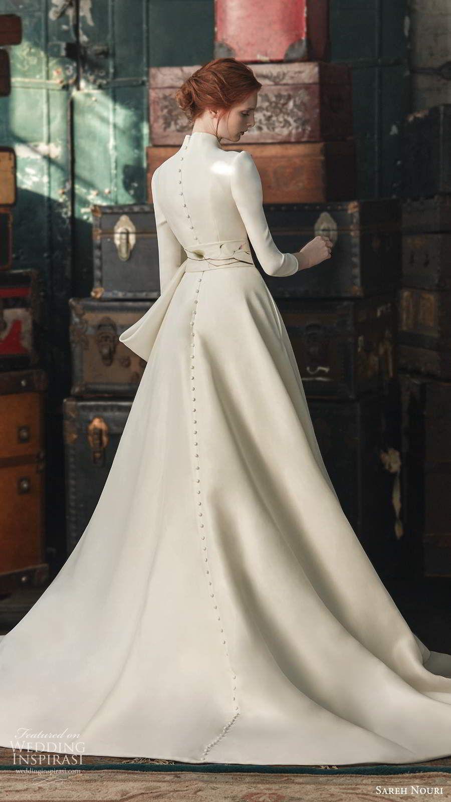 "Sareh Nouri Fall 2020 Wedding Dresses — ""French Romance"