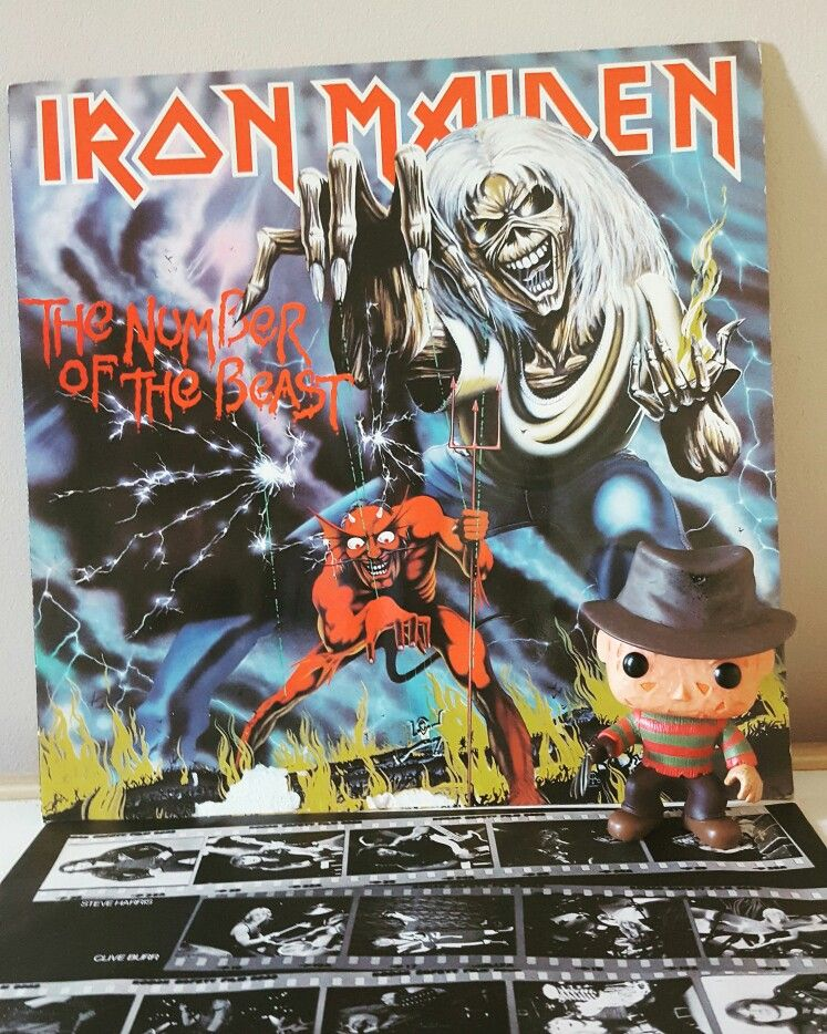 Freddy Krueger And Iron Maiden Number Of The Beast Iron Maiden