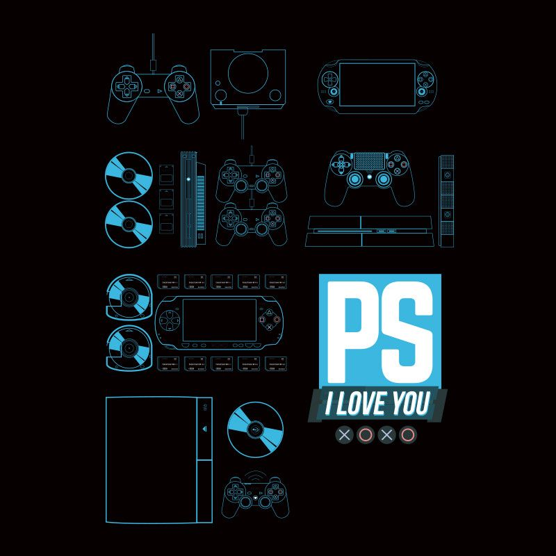 0e8387f2de Kinda Funny PS I Love You XOXO Shirt | tee shirts | Ps i love you ...