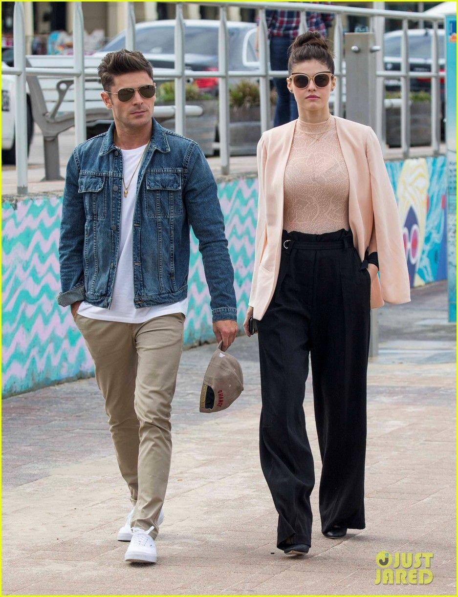 Zac Efron & Alexandra Daddario Visit Bondi Beach Lifeguard