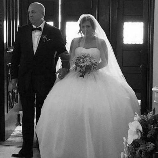 Lauren Manzo Vito Scalia Married Photos Filmed For Manzo D With Children Wedding Dresses Princess Ballgown Princess Wedding Dresses Wedding Dress Inspiration