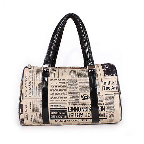 b3054cd01fe Fashion Retro Vintage Style Man Womens Lady Handbag Tote Shoulder ...