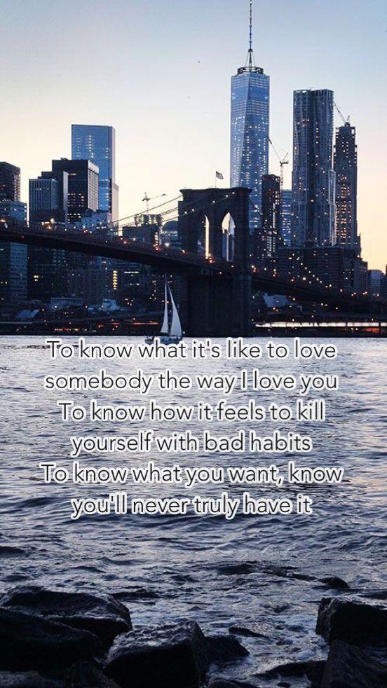 New York City Chainsmokers Chainsmokers Lyrics City Quotes Lyrics To Live By