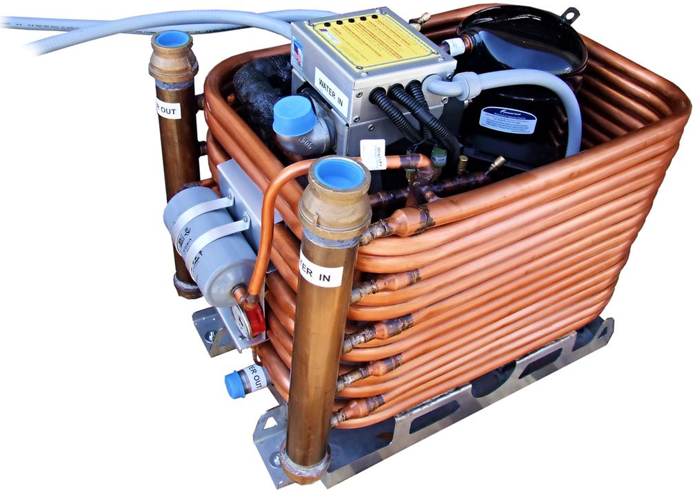 """Chilled water """"Chiller"""" marine air conditioning systems"""