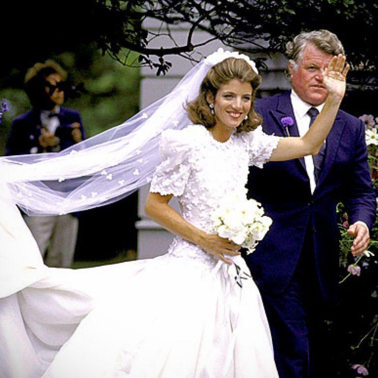 Caroline Kennedy Wedding Dress Designer 24 Dressi Kennedy