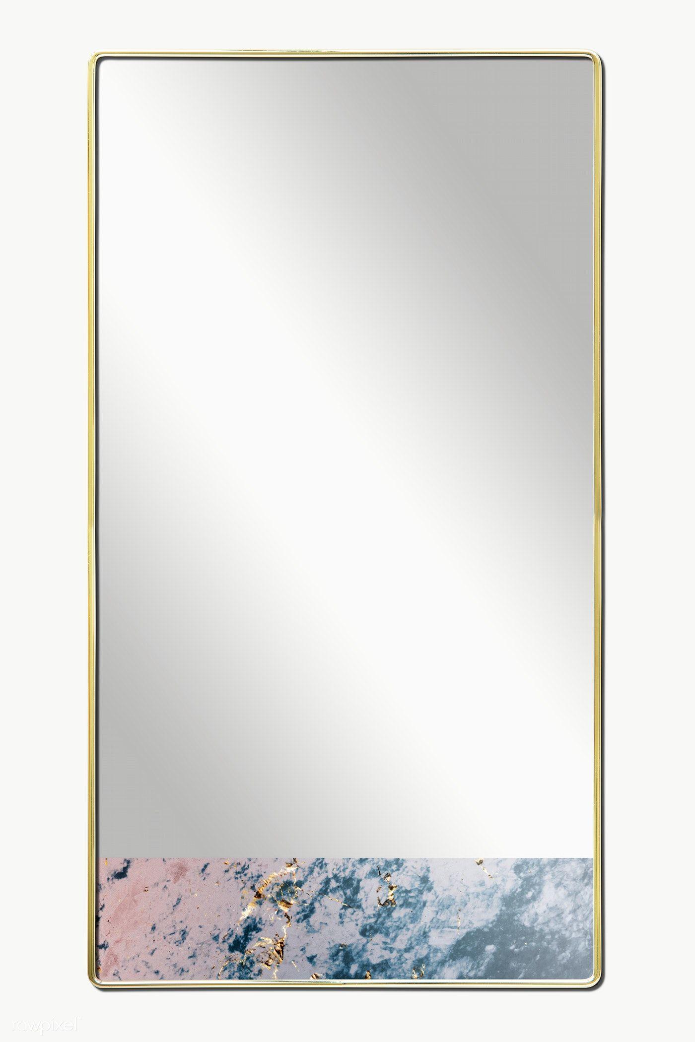 Download Premium Png Of Gold Framed Mirror Mockup Transparent Png 2036855 Gold Framed Mirror Marble Frame Mirror Mirror Frames