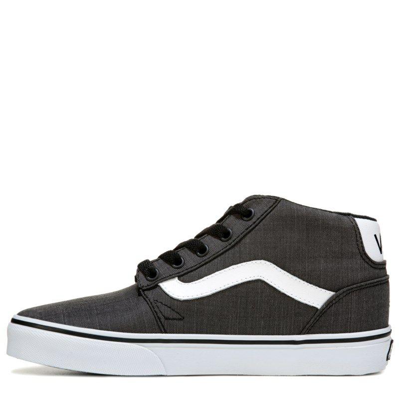 c77442a9c3 Vans Men s Chapman Mid Top Sneakers (Grey White Textile) - 13.0 M