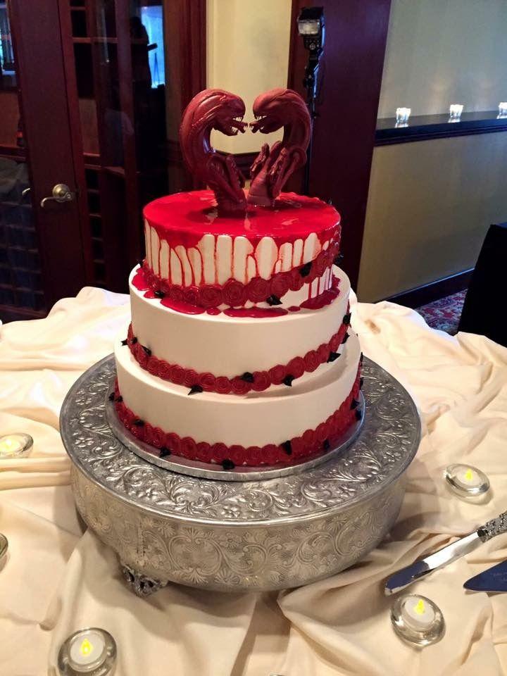 Chestburster cake alien