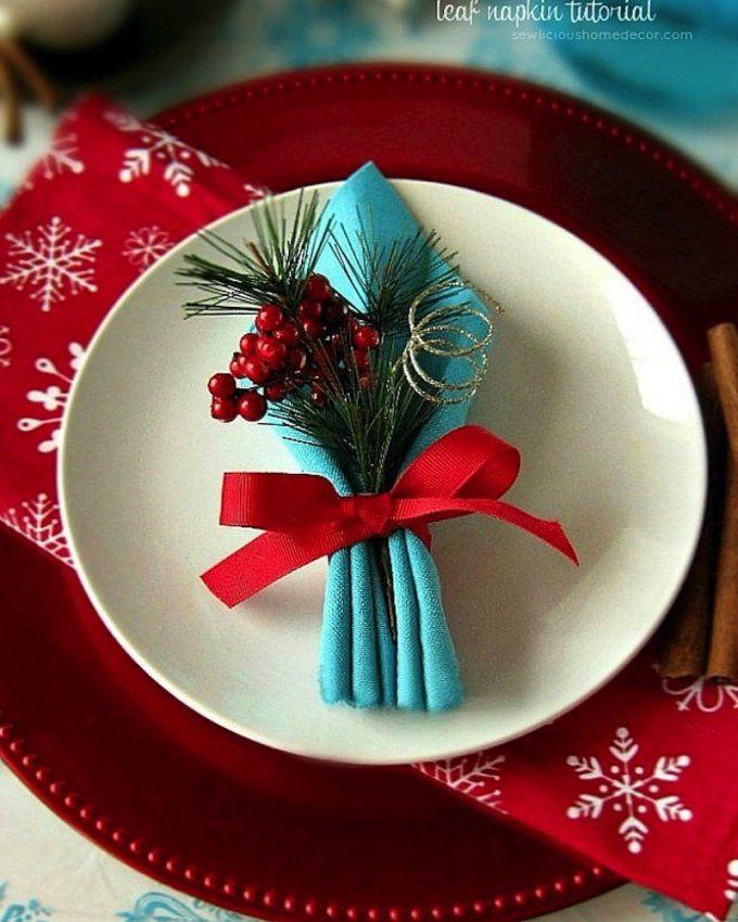 8 idées de pliages de serviettes pour Noël | Pliage serviette, Pliage serviette noel et Pliage ...
