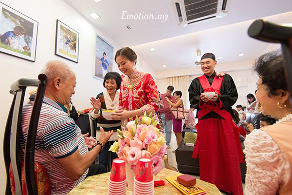 Traditional Chinese Wedding Malaysia Www Emotioninpictures Kim Fatt Pui Lai