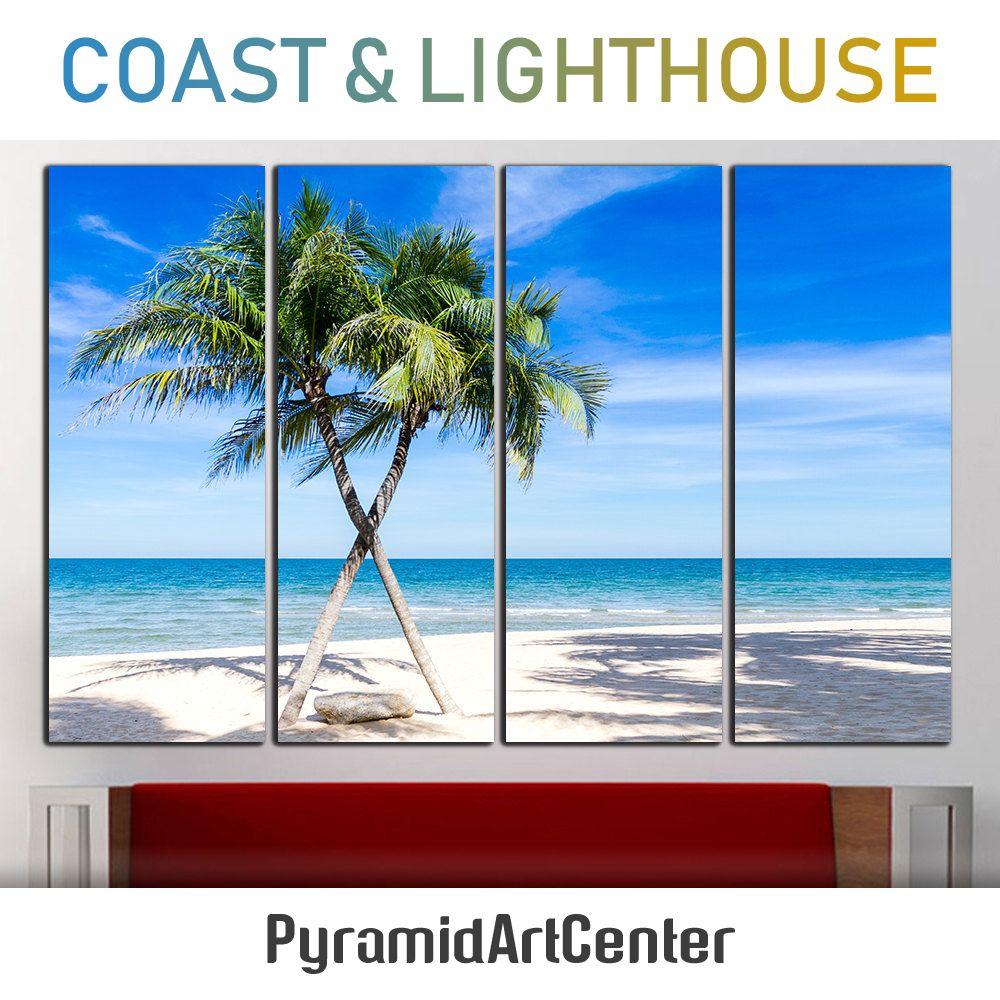 Tropical Wall Art Tropical Canvas Tropical Wall Decor Beach Canvas
