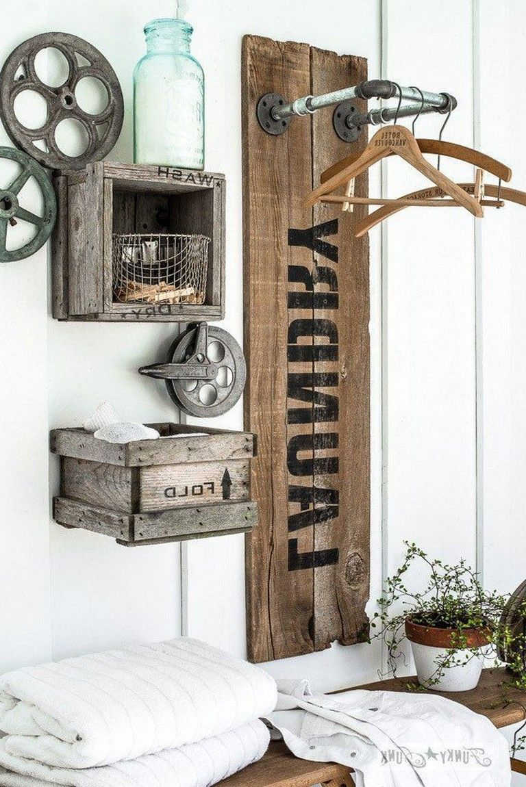 Photo of 38+ Awesome Rustic Functional Laundry Room Ideas Best For Farmhouse Home Design