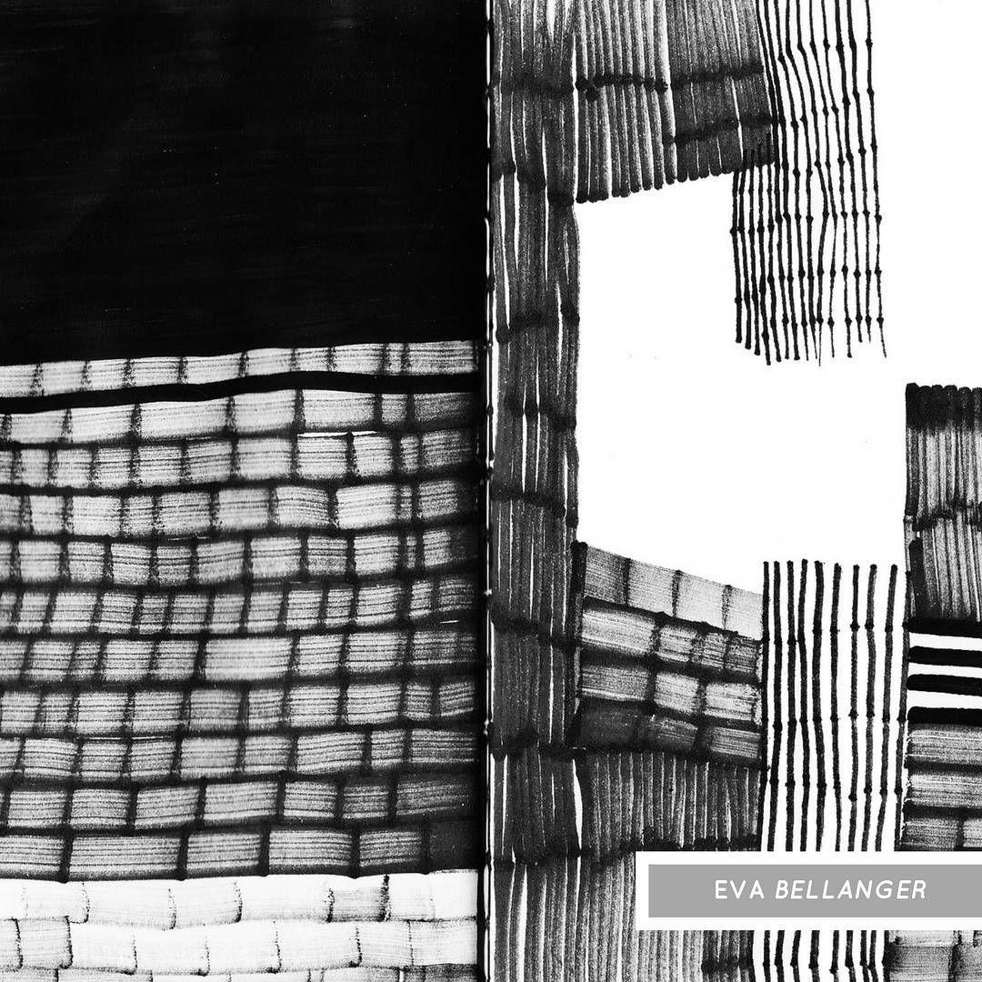 """Édifice II"" - Eva Bellanger  #abstract #blackandwhite #printandpattern #patterndesign #linocut #linoprint #markmaking #textiledesigner #printdesign #print  #pattern #textiledesign #artwork #art #drawing #illustration"