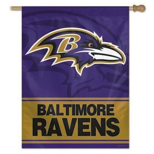 Baltimore Ravens Flag Vertical House Flag Exclusive Design Baltimore Ravens Baltimore Ravens Logo House Flags