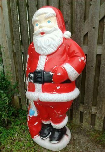 "Rare Beco 60"" Santa Claus Blow Mold Christmas Vintage Yard Decor https://t.co/XEVsCkehaE https://t.co/XlGqOJJqRM"