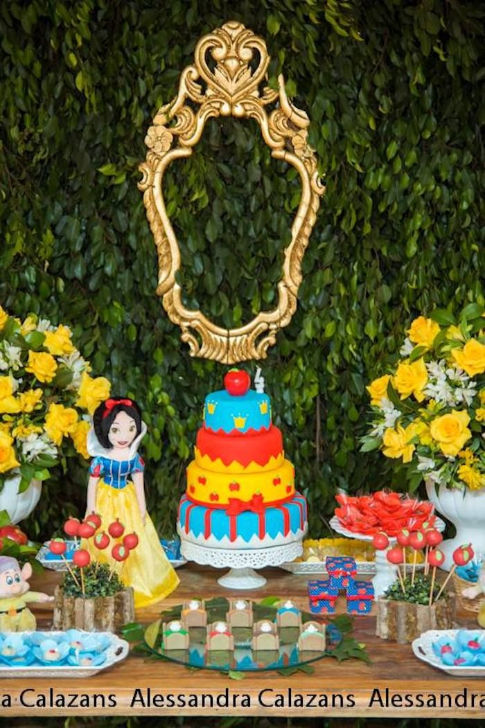 Snow White And The Seven Dwarfs Themed Birthday Party Ideas