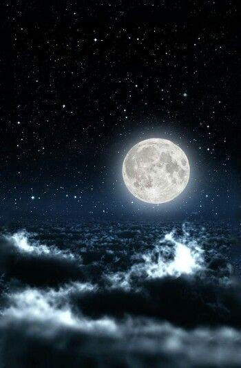 Pin By Chloebabyxoxo On Sky Moon And Stars Wallpaper Night Sky Wallpaper Star Wallpaper Cool night sky moon wallpaper for