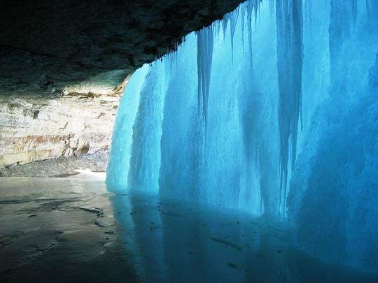Minnehaha Falls, Minneapolis (EUA).