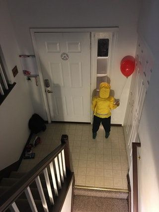 Made My It Georgie Doll Tonight Here Is What The Wife Will Wak Scary Halloween Decorations Diy Scary Halloween Decorations Halloween Decorations Diy Outdoor,What A Beautiful Name Chords Pdf C