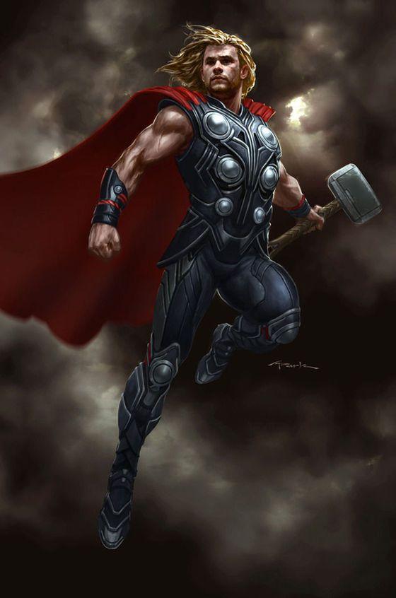 es el dios del trueno, Su papel es complejo ya que tenía influencia en áreas muy diferentes, tales como el clima, las cosechas, la protección, la consagración, la justicia, las lidias, los viajes y las batallas. carga siempre su martillo