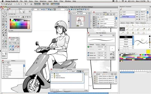 como aprender a dibujar anime y manga en computadora 8  Aprender