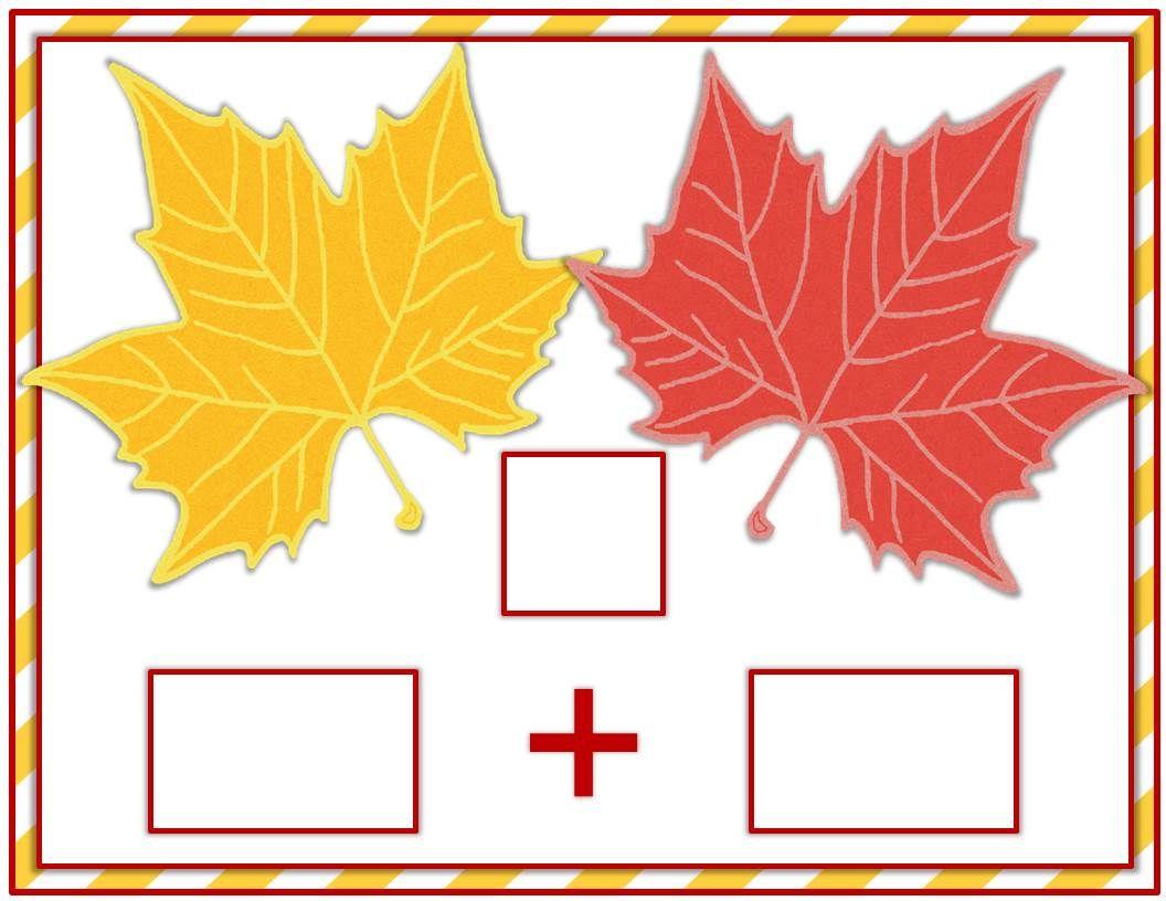Autumn Math Mats And Ten Frames