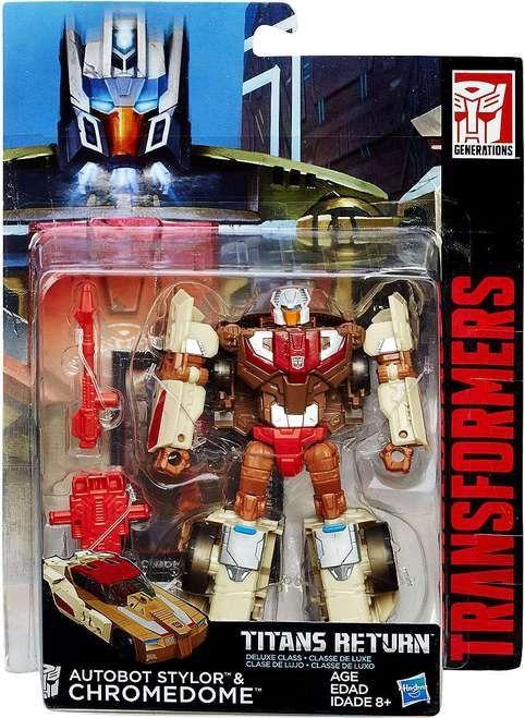 Hasbro Transformers Generations Titans Return Dinobot Legends Action Figures Toy