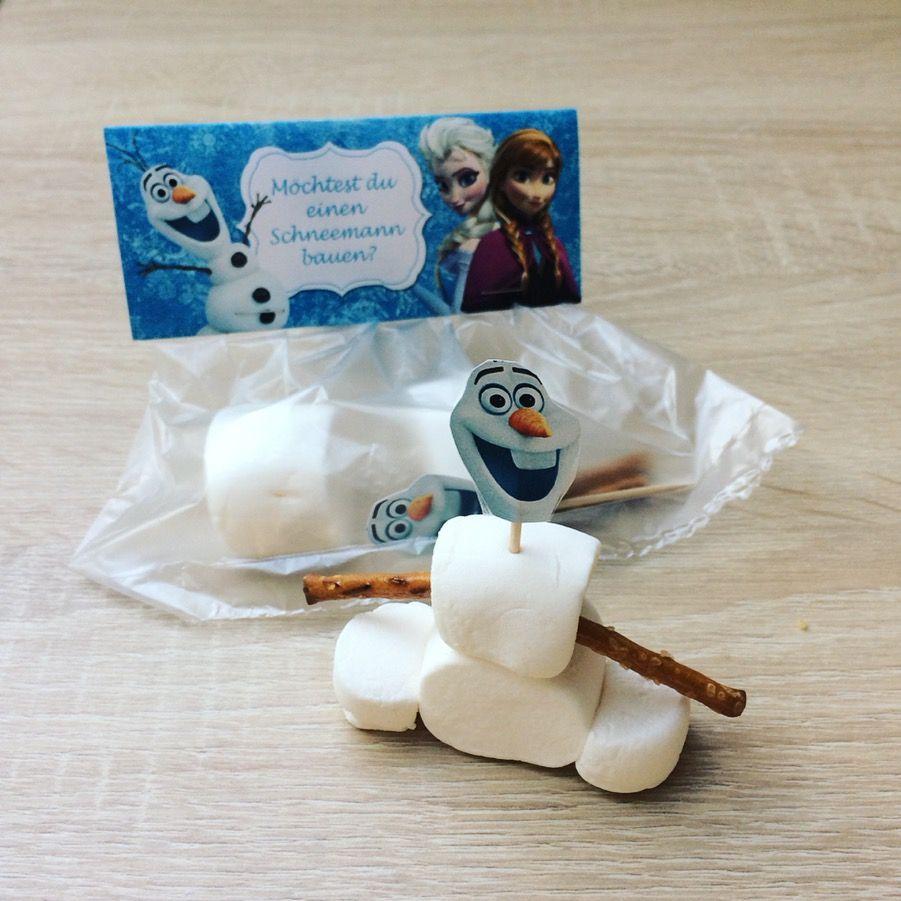 """Marshmallow Olaf. """"Willst du einen Schneemann bauen"""