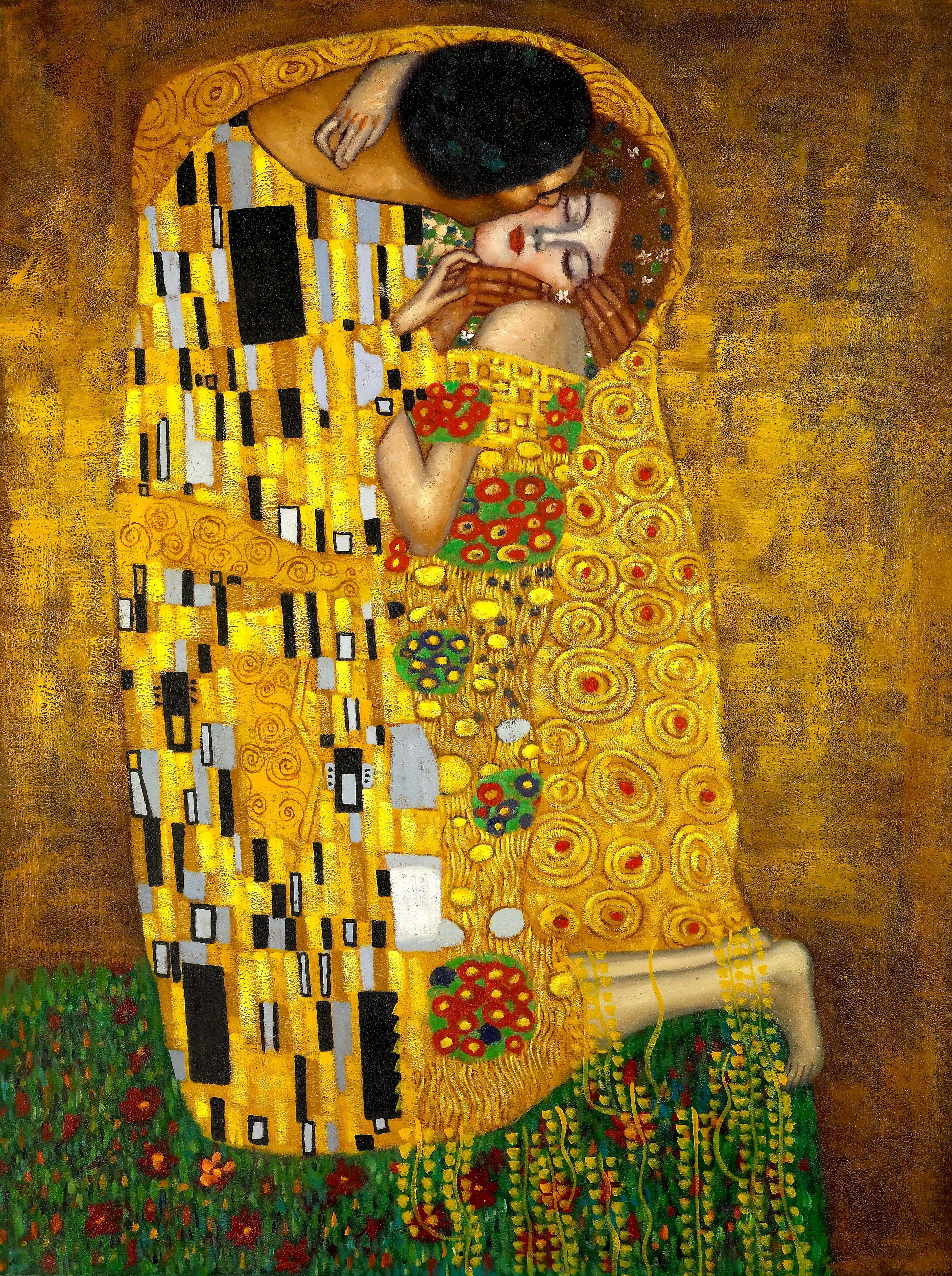 the kiss by G, Klimt   art   Pinterest   Klimt, Kiss and ...