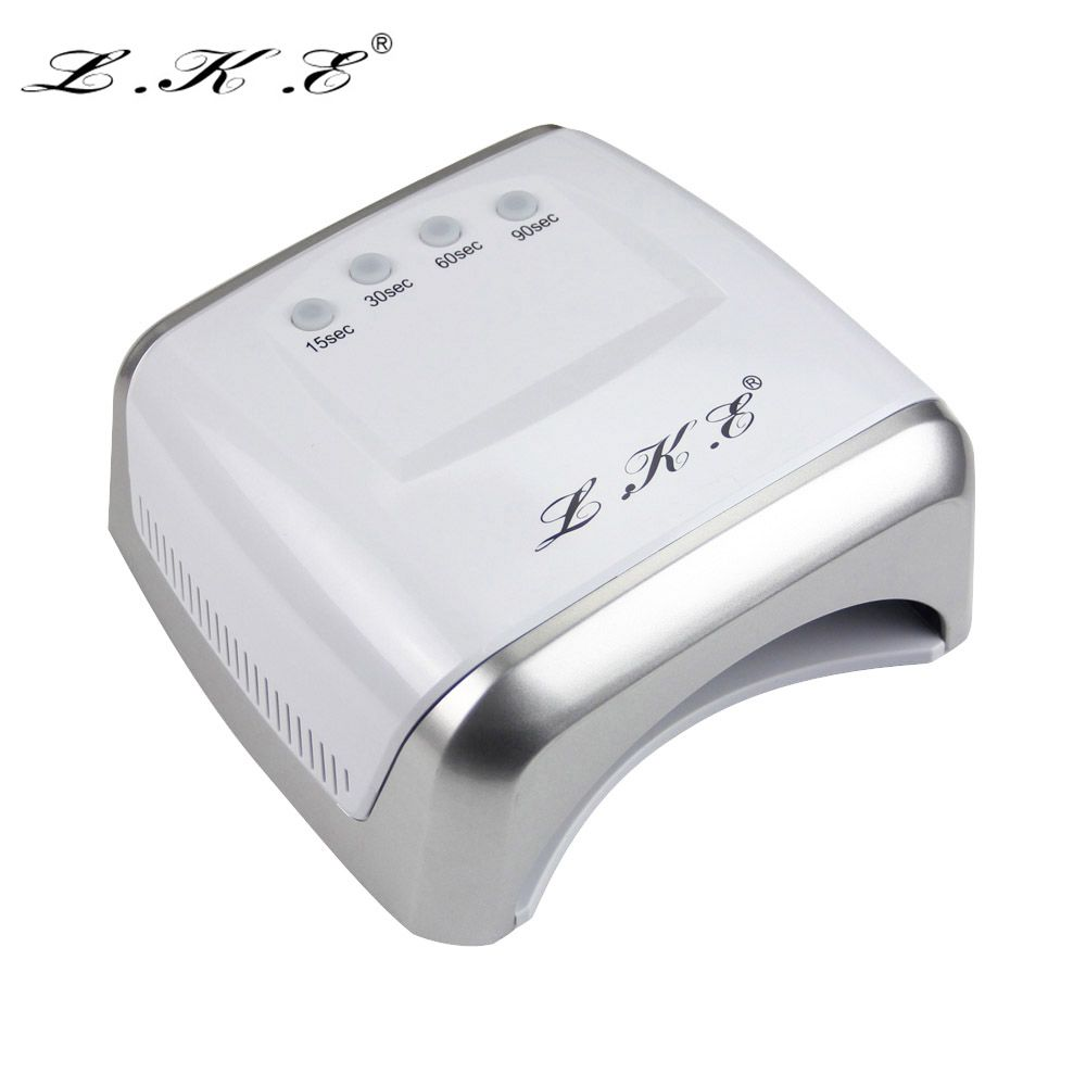 Lke 60w white led uv lamp nail dryer 365 405nm gel polish curing lke 60w white led uv lamp nail dryer 365 405nm gel polish curing machine with parisarafo Images