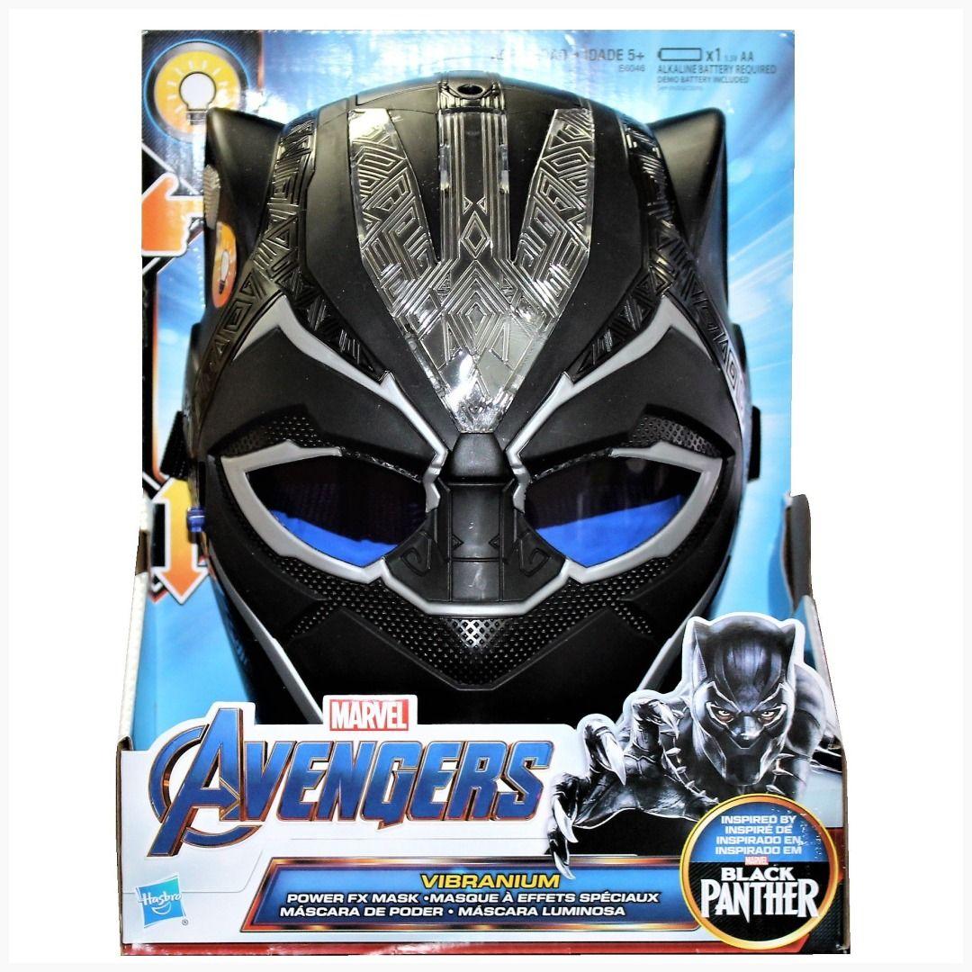 Black Panther Vibranium Power FX Mask Marvel Avengers