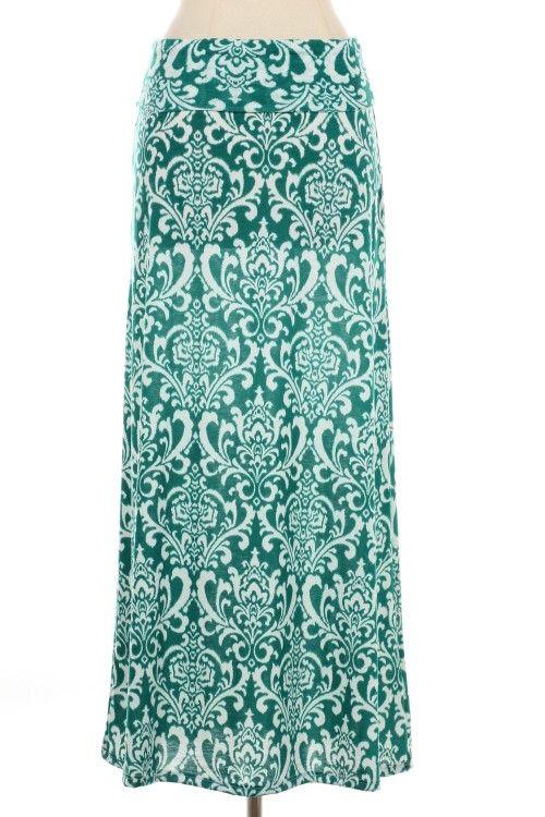 10a9b3a43 VINTAGE PRINT MAXI SKIRT | Bottoms | Printed maxi skirts, Wholesale ...