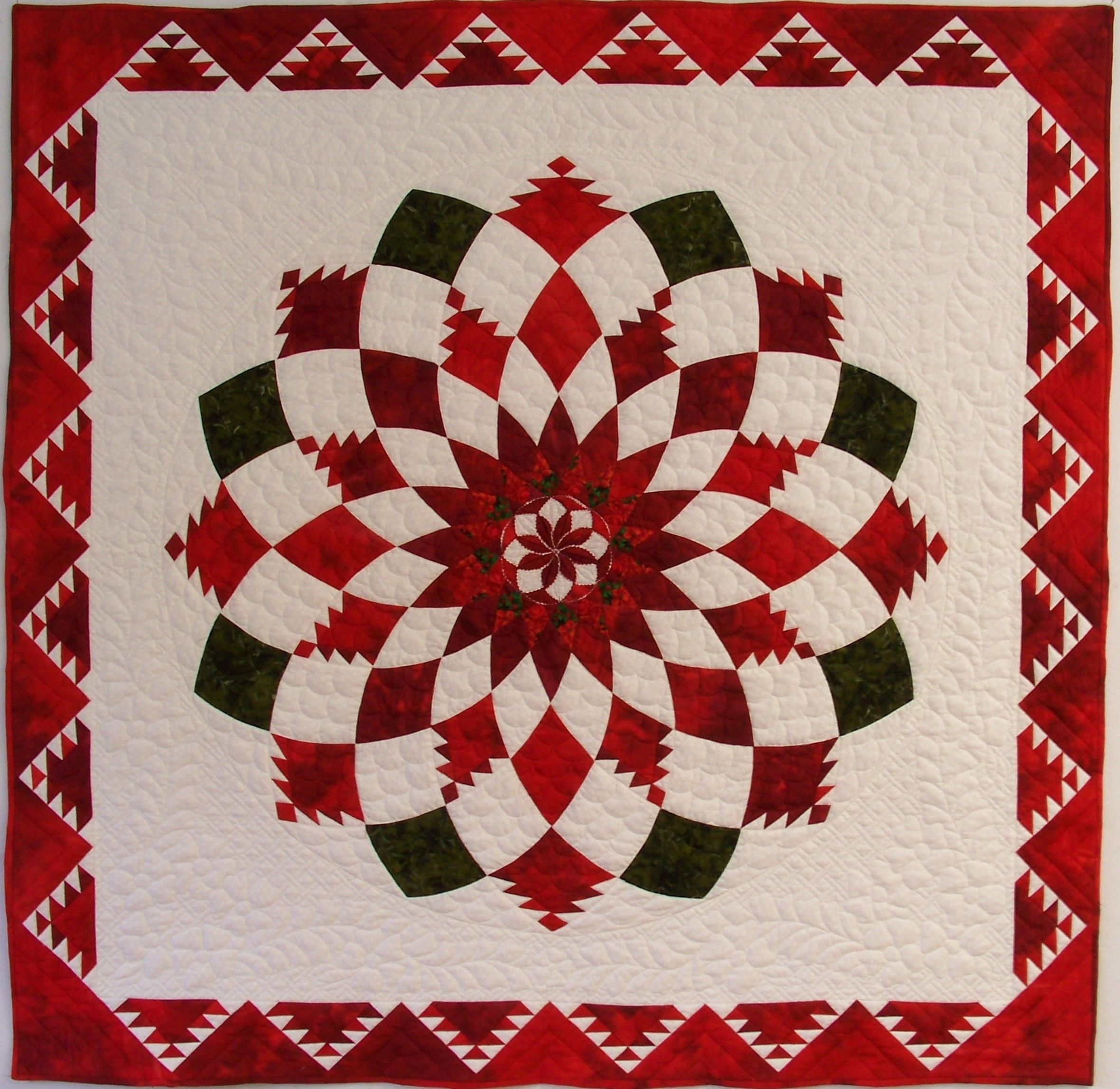 Feathered Dahlia | Dahlia, Feathers and Patchwork : quilting for christmas magazine - Adamdwight.com