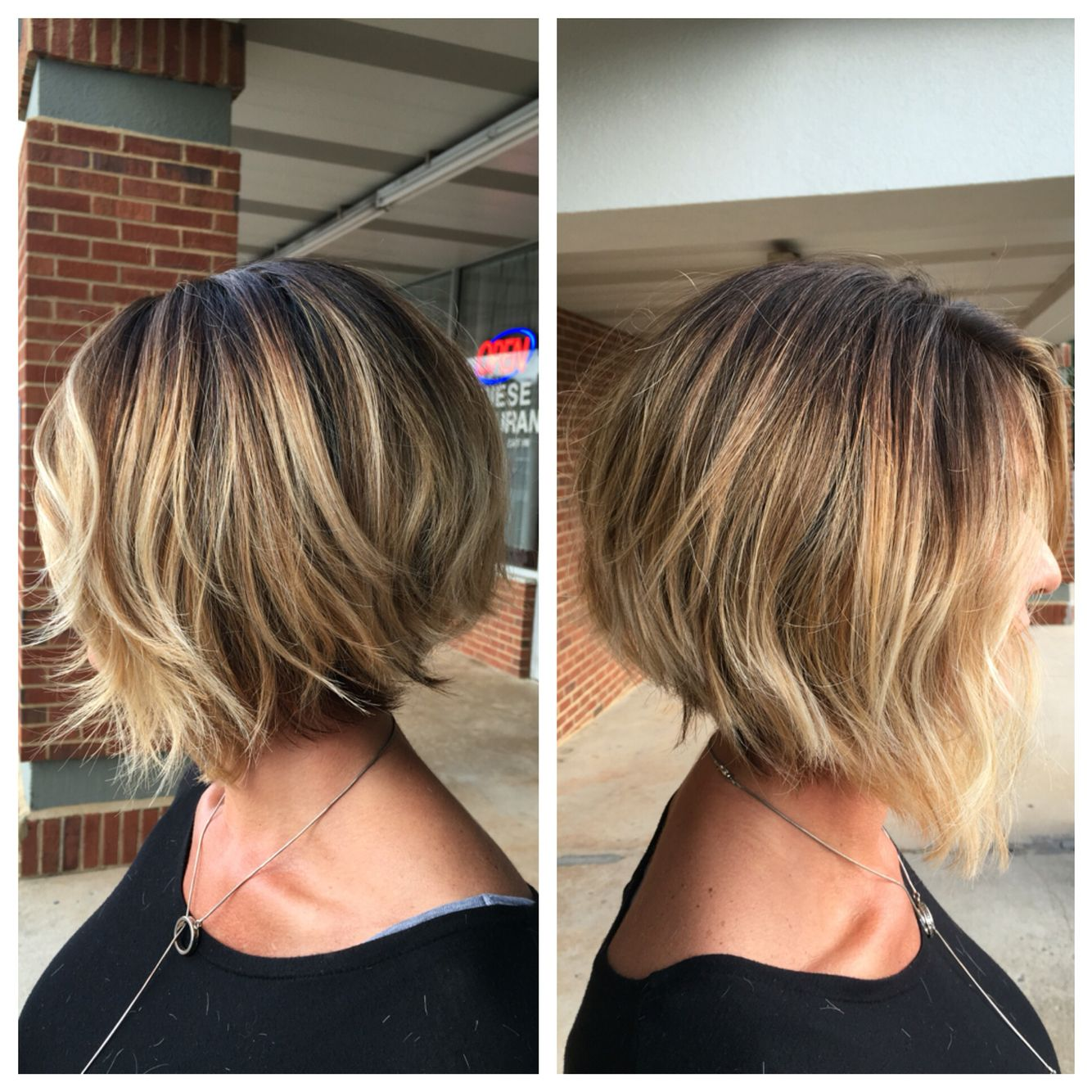 2019 year lifestyle- Appropriate Work stacked bob haircuts