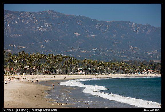 East Beach Santa Barbara My Hometown