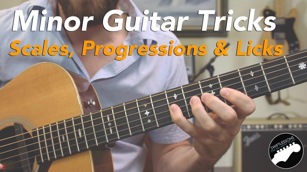 Minor Guitar Tricks Spanish Licks Scales Progressions Easy Guitar Songs Guitar Lessons Guitar Lessons Songs
