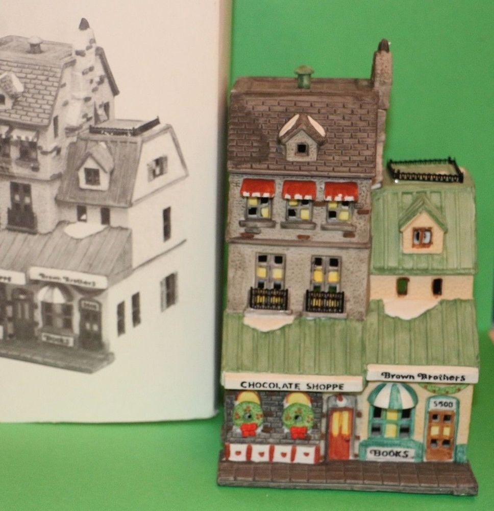Dept. 56 Christmas in the City Series The Chocolate Shoppe CIC ...