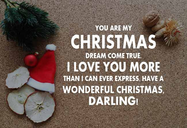 Christmas Wishes for Girlfriend - Romantic Christmas ...