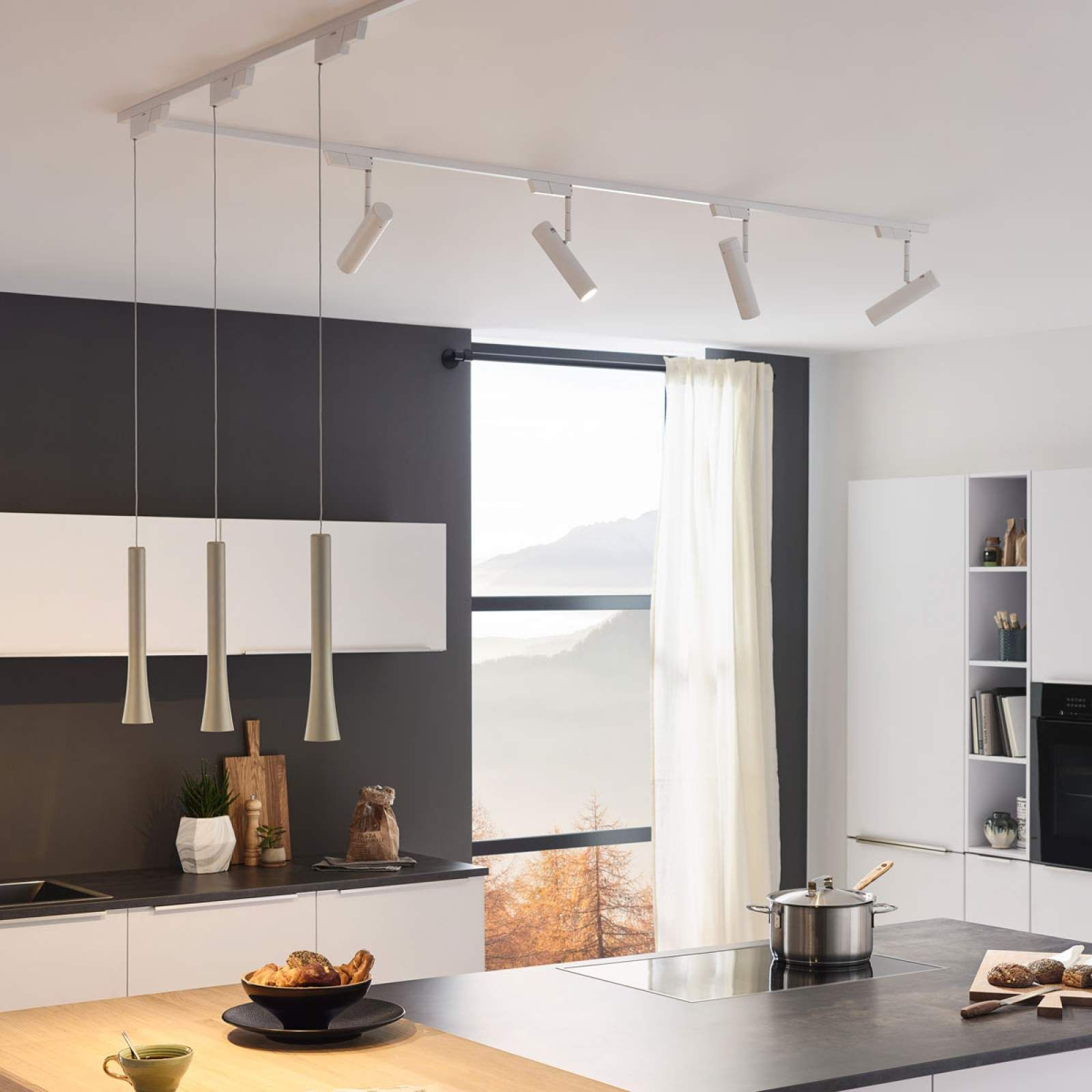 Oligo Sentry Led Schienenspot In 2020 Wohnzimmerbeleuchtung Kuche Licht Kuchenlicht