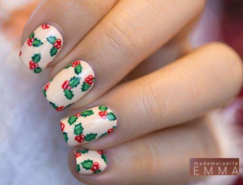 Decoracion Unas Navidad Unas Pinterest Unas Decoradas De - Decoracion-uas-navidad