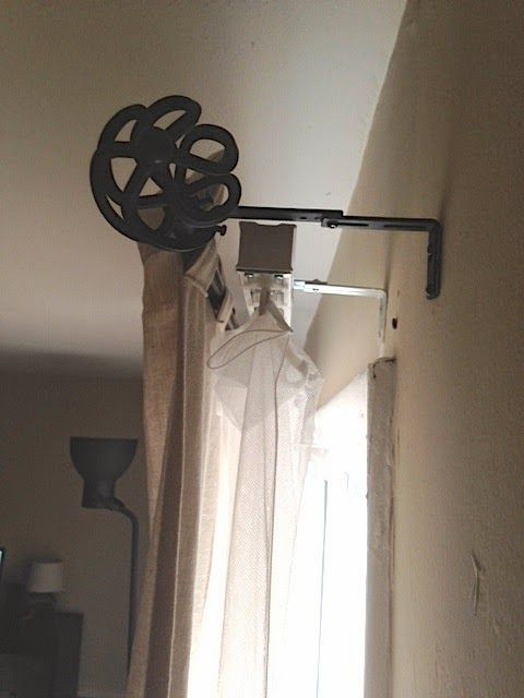 Using Vertical Blind Clips To Hang Curtain Hiding Vertical Blinds