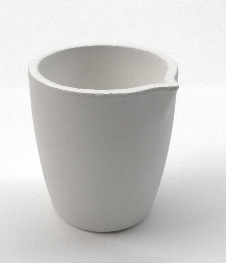 Details About Ceramic Melting Crucible Dish Torch Melting Gold Silver Cup Capacity 80toz Italy Ceramics Metal Fab Silver