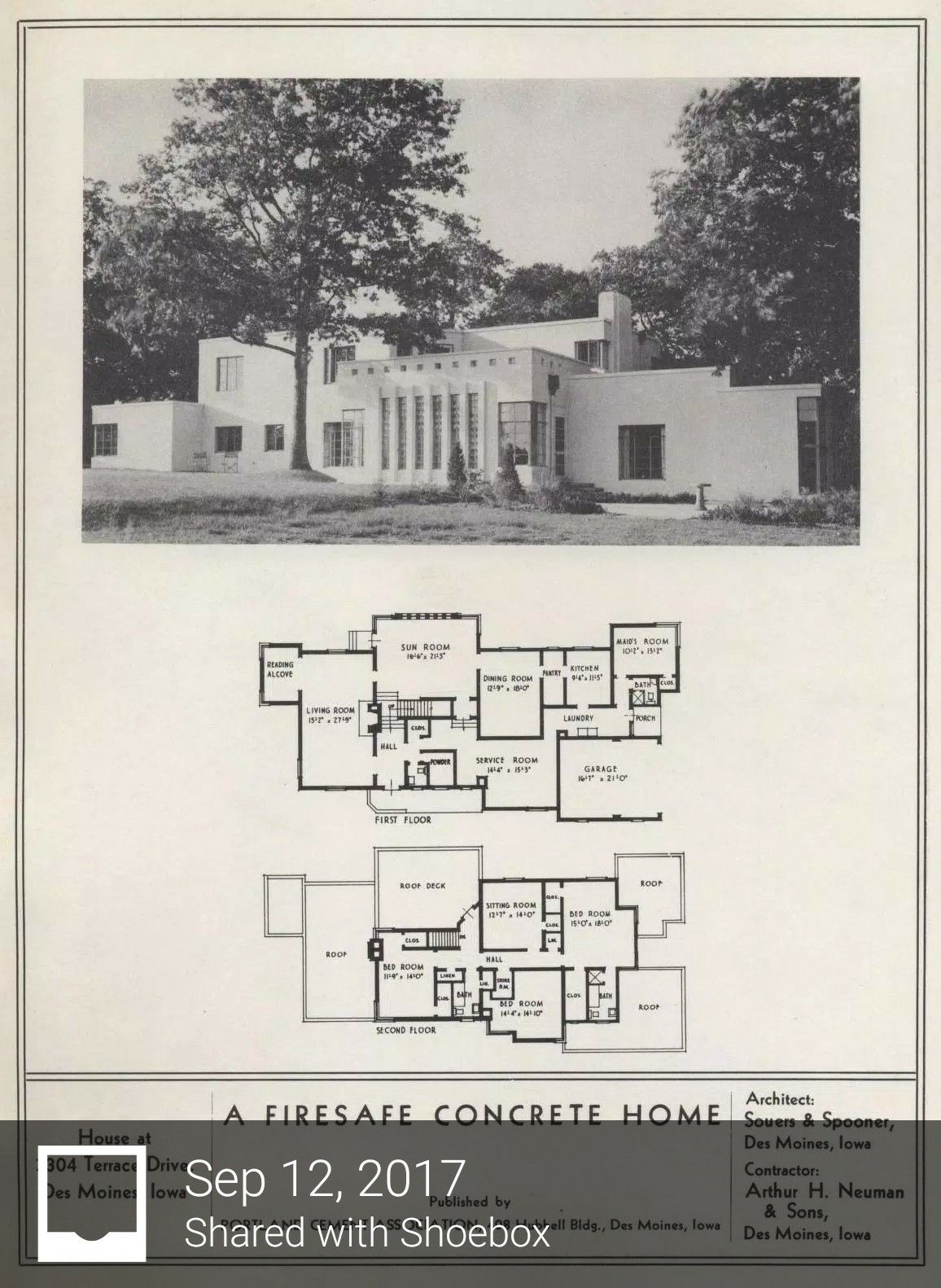 Pin By G On Mid Century Modern Concrete Houses Streamline Moderne Architecture Art Deco Home