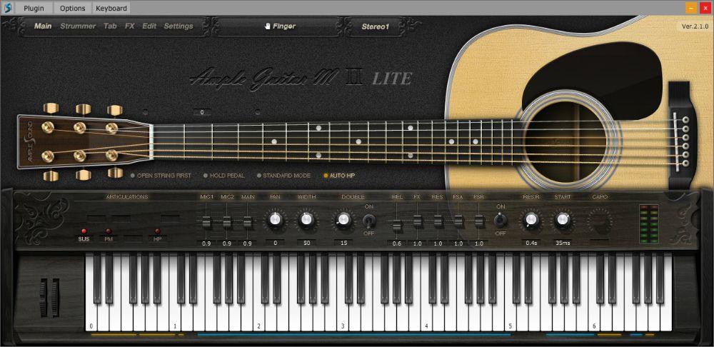 Ample Guitar M Lite Ii Free Virtual Instrument Plugin Download Ample Guitar M Lite Ii Plugin Free Ample Sound V In 2020 Guitar Music Recording Studio Recorder Music