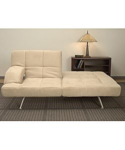 Chai Microsuede Sofa Bed 302 99 W Coupon Http Bit Ly